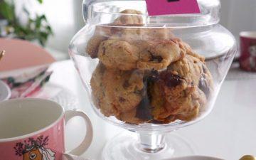 suklaa cookies resepti