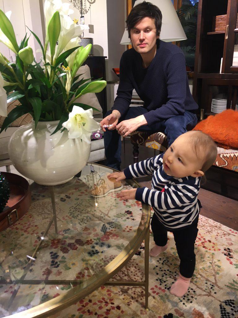 Vauvan kanssa Tukhomassa