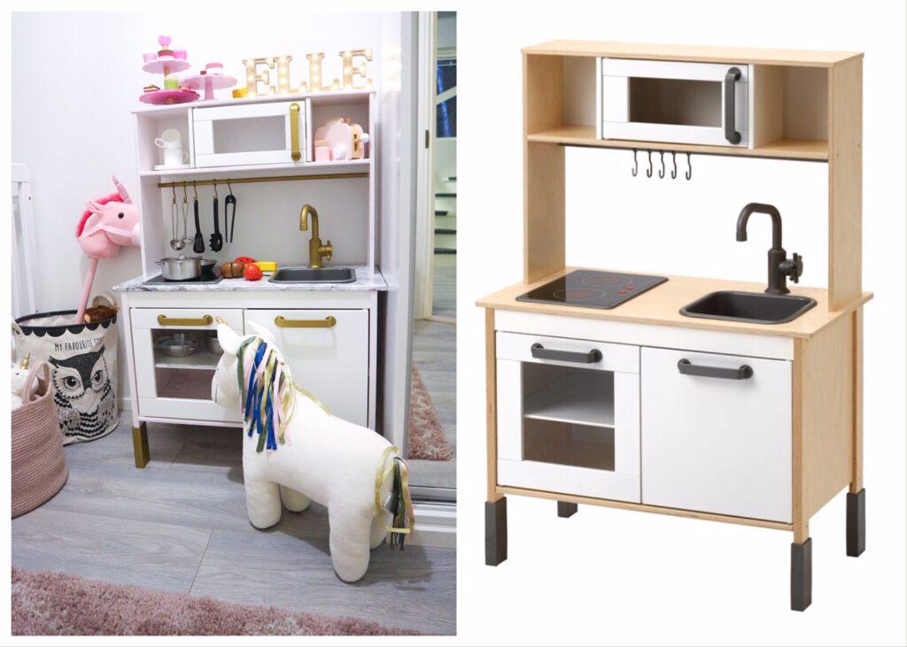 Ikea duktig before after
