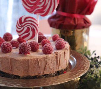 jäädytetty suklaajuustokakku