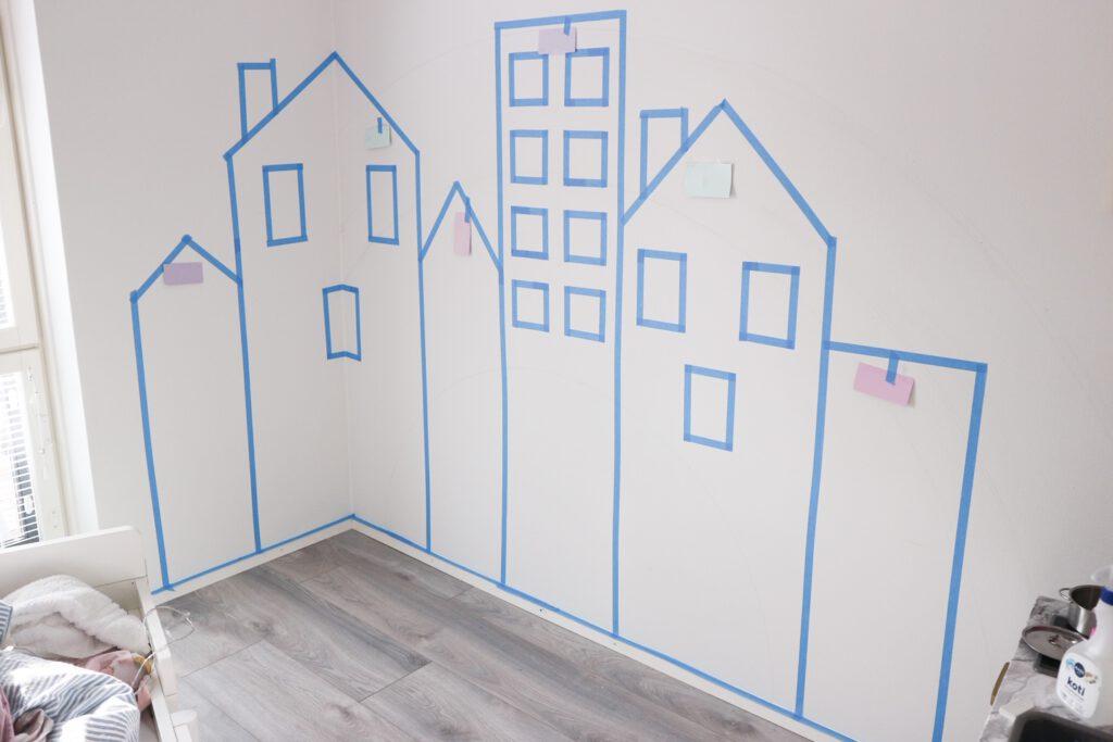 lastenhuone seinä