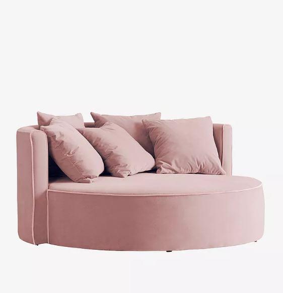 pyöreä sohva