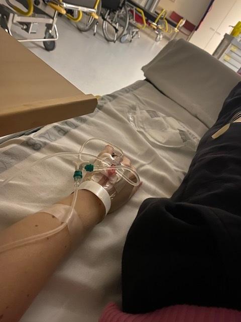 Hyperemeesin hoito sairaalassa