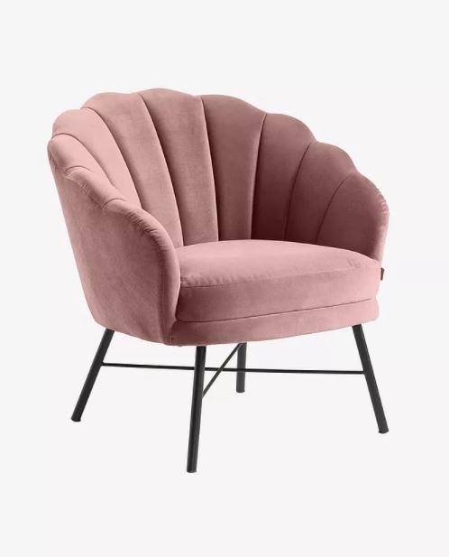 vaaleanpunainen tuoli lapselle